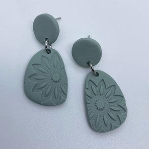 Elegant Floral Handcrafted Earrings